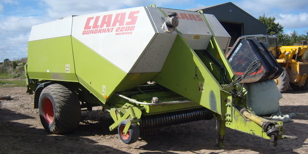 Claas Quadrant 2200 Baler For Sale